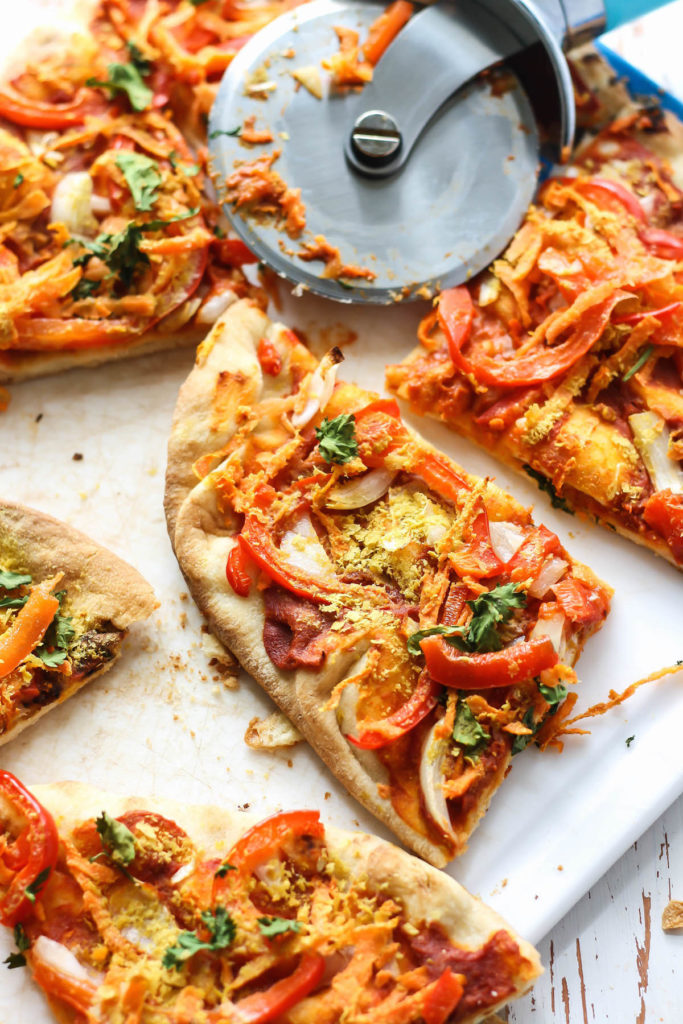 Naan Vegan Thai Pizza